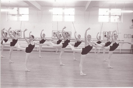 Jo Hyne at the Royal Ballet School
